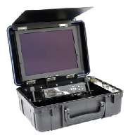 UWS-3410,Portable Color Video System with LED Light